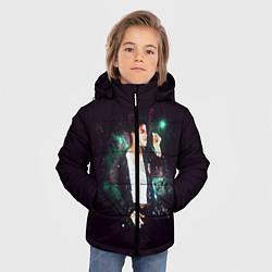 Куртка зимняя для мальчика Michael Jackson цвета 3D-черный — фото 2