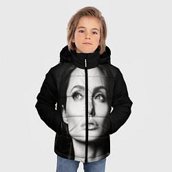 Куртка зимняя для мальчика Mono Jolie цвета 3D-черный — фото 2
