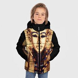 Куртка зимняя для мальчика Хатшепсут цвета 3D-черный — фото 2