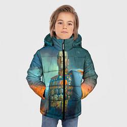 Куртка зимняя для мальчика Жуков цвета 3D-черный — фото 2