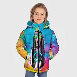 Куртка зимняя для мальчика Хиппи 9 цвета 3D-черный — фото 2