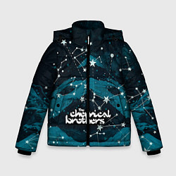 Куртка зимняя для мальчика Chemical Brothers: Space цвета 3D-черный — фото 1