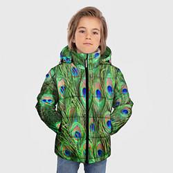Детская зимняя куртка для мальчика с принтом Life is beautiful, цвет: 3D-черный, артикул: 10096428506063 — фото 2