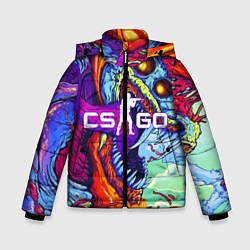 Куртка зимняя для мальчика CS:GO цвета 3D-черный — фото 1
