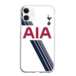 Чехол iPhone 11 матовый Tottenham Hotspur: AIA цвета 3D-белый — фото 1