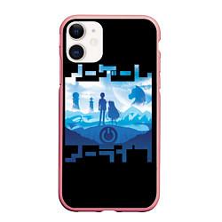 Чехол iPhone 11 матовый No Game No Life цвета 3D-баблгам — фото 1