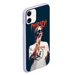 Чехол iPhone 11 матовый Pharaoh цвета 3D-светло-сиреневый — фото 2