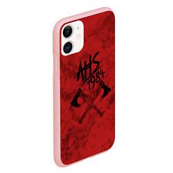 Чехол iPhone 11 матовый American Horror Story цвета 3D-баблгам — фото 2