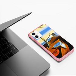 Чехол iPhone 11 матовый Постоянство Памяти цвета 3D-баблгам — фото 2