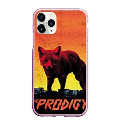 Чехол iPhone 11 Pro матовый The Prodigy: Red Fox цвета 3D-розовый — фото 1