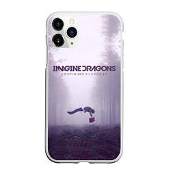 Чехол iPhone 11 Pro матовый Imagine Dragons: Silence цвета 3D-белый — фото 1