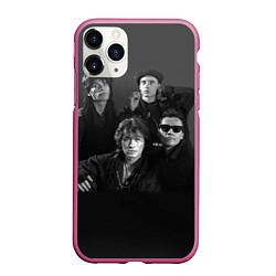 Чехол iPhone 11 Pro матовый Группа Кино