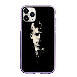 Чехол iPhone 11 Pro матовый Есенин Ч/Б