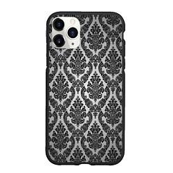 Чехол iPhone 11 Pro матовый Гламурный узор