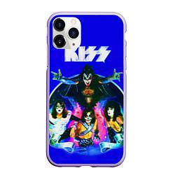 Чехол iPhone 11 Pro матовый Kiss Show