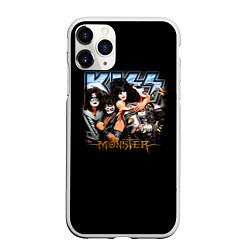 Чехол iPhone 11 Pro матовый Kiss Monster