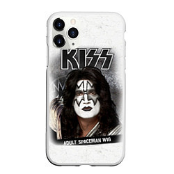 Чехол iPhone 11 Pro матовый KISS: Adult spaceman wig
