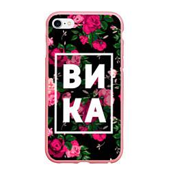 Чехол iPhone 6 Plus/6S Plus матовый Вика