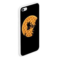 Чехол iPhone 6/6S Plus матовый Wafer Rider цвета 3D-белый — фото 2