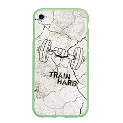 Чехол iPhone 6 Plus/6S Plus матовый Train hard