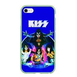 Чехол iPhone 6 Plus/6S Plus матовый Kiss Show