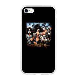 Чехол iPhone 6 Plus/6S Plus матовый Kiss Monster