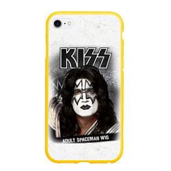 Чехол iPhone 6 Plus/6S Plus матовый KISS: Adult spaceman wig