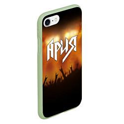 Чехол iPhone 7/8 матовый Ария цвета 3D-салатовый — фото 2
