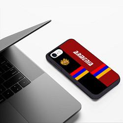 Чехол iPhone 7/8 матовый Armenia цвета 3D-черный — фото 2