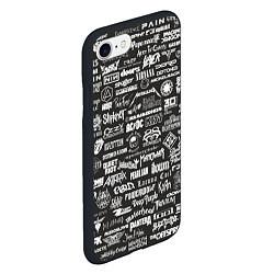 Чехол для iPhone 7/8 матовый с принтом Rock Star, цвет: 3D-черный, артикул: 10150610705885 — фото 2