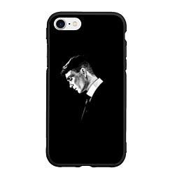 Чехол iPhone 7/8 матовый Peaky Blinders цвета 3D-черный — фото 1