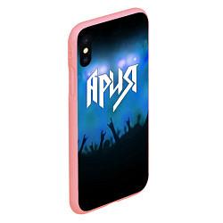 Чехол iPhone XS Max матовый Ария цвета 3D-баблгам — фото 2