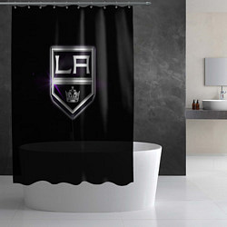 Шторка для душа Los Angeles Kings цвета 3D-принт — фото 2