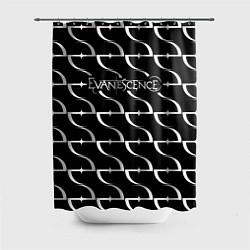 Шторка для душа Evanescence цвета 3D-принт — фото 1