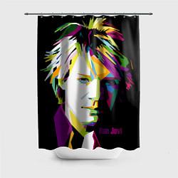 Шторка для душа Jon Bon Jovi Art цвета 3D — фото 1