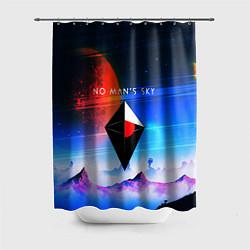 Шторка для душа No Man's Sky: Galaxy цвета 3D — фото 1