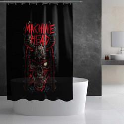 Шторка для душа Machine Head: Blooded Skull цвета 3D — фото 2