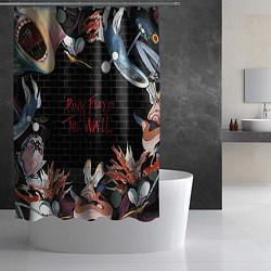 Шторка для душа Pink Floyd: The Wall цвета 3D — фото 2