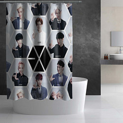 Шторка для душа EXO Boys цвета 3D — фото 2
