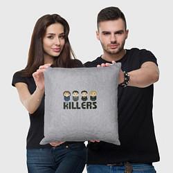 Подушка квадратная The Killers Boys цвета 3D-принт — фото 2