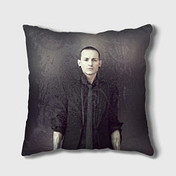 Подушка квадратная Честер Беннингтон цвета 3D — фото 1