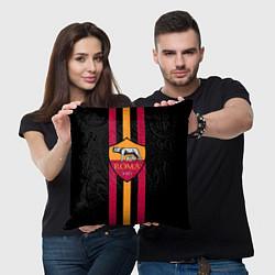 Подушка квадратная FC Roma 1927 цвета 3D — фото 2