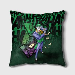 Подушка квадратная Joker Games цвета 3D — фото 1