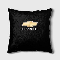 Подушка квадратная CHEVROLET цвета 3D — фото 1