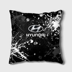 Подушка квадратная HYUNDAI цвета 3D — фото 1