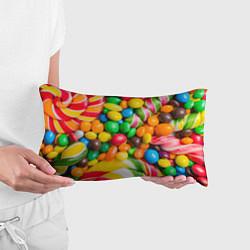 Подушка-антистресс Сладкие конфетки цвета 3D — фото 2