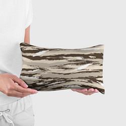 Подушка-антистресс Камуфляж: коричневый/кремовый цвета 3D — фото 2