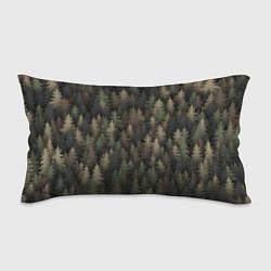Подушка-антистресс Лесной камуфляж цвета 3D — фото 1