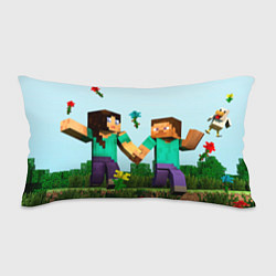 Подушка-антистресс Minecraft Stories цвета 3D — фото 1