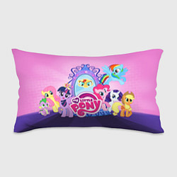 Подушка-антистресс My Little Pony цвета 3D-принт — фото 1